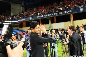 Nasser Al-Khelaïfi se réjouit du recrutement de Julian Draxler au PSG.