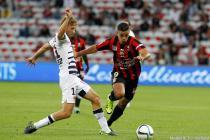 Clement Chantome / Hatem Ben Arfa - 23.09.2015 - Nice / Bordeaux - 7eme journee de Ligue 1