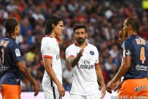 Edinson Cavani / Ezequiel Lavezzi  - 21.08.2015 - Montpellier / Paris Saint Germain - 3e journee Ligue 1