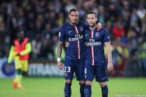 Gregory VAN DER WIEL / Yohan CABAYE - 03.05.2015 - Nantes / Paris Saint Germain - 35eme journee de Ligue 1