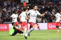 Joie PSG - Ezequiel Lavezzi - 16.05.2015 - Montpellier / Paris Saint Germain - 37eme journée de Ligue 1