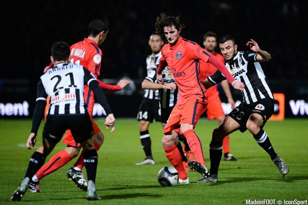 Adrien Rabiot et le PSG ont concédé leur troisième nul de la saison à Angers.