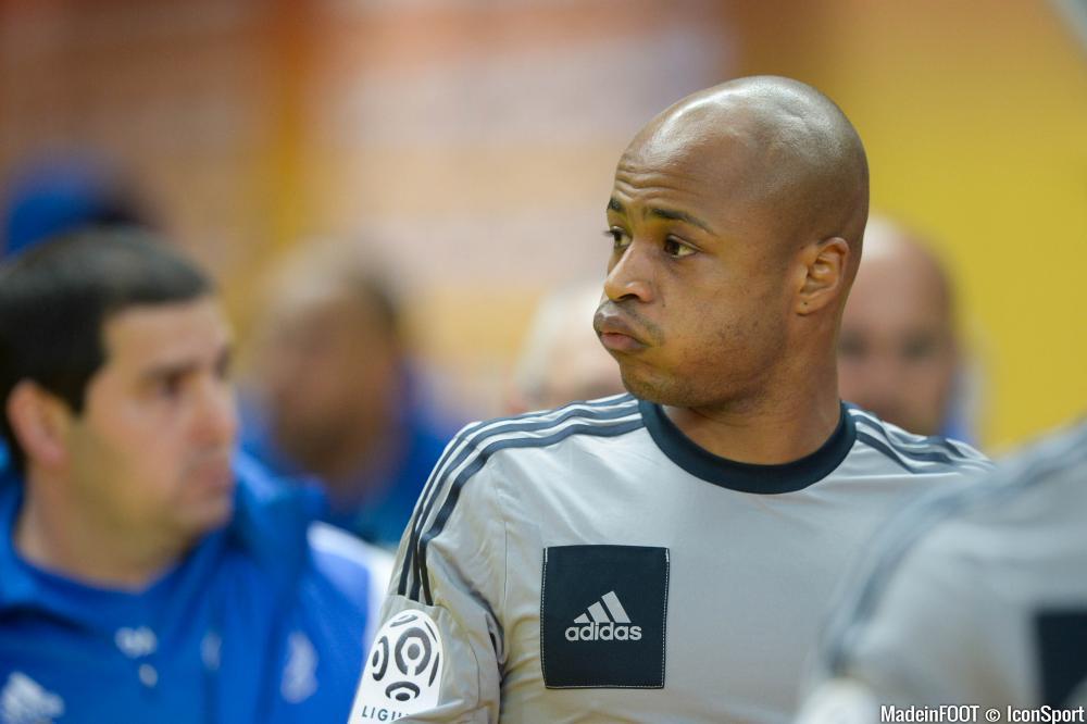 André Ayew s'est montré très déçu à l'issue de la rencontre.