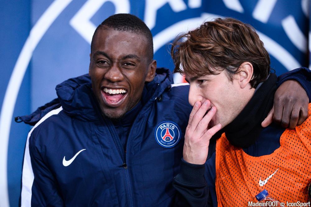 Blaise Matuidi et Maxwell arrivent avec l'intention de l'emporter à Madrid.