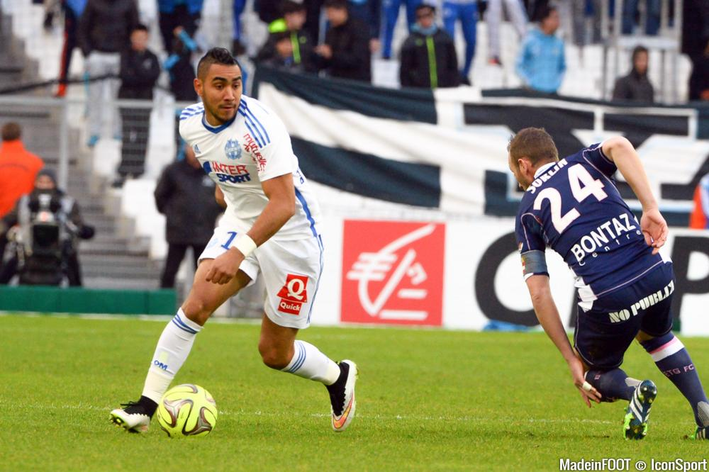 Payet est en tête du classement des meilleurs passeurs de Ligue 1.