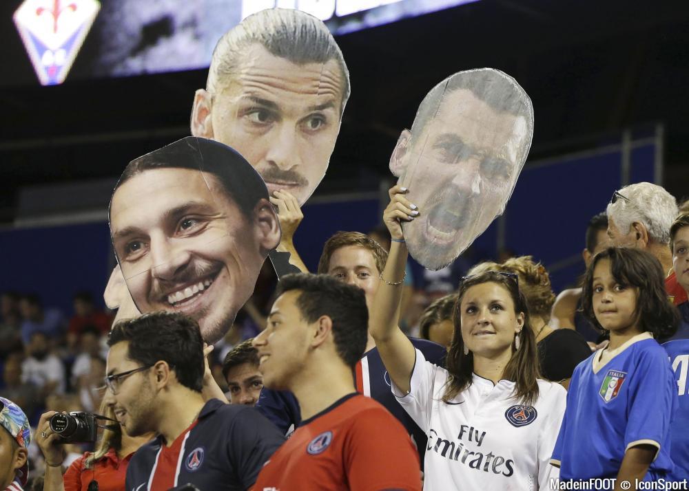 Zlatan Ibrahimovic fait la une en Espagne.