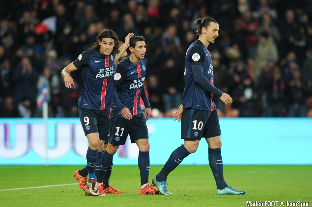 Edinson Cavani devrait être aligné en pointe à Angers ce soir.