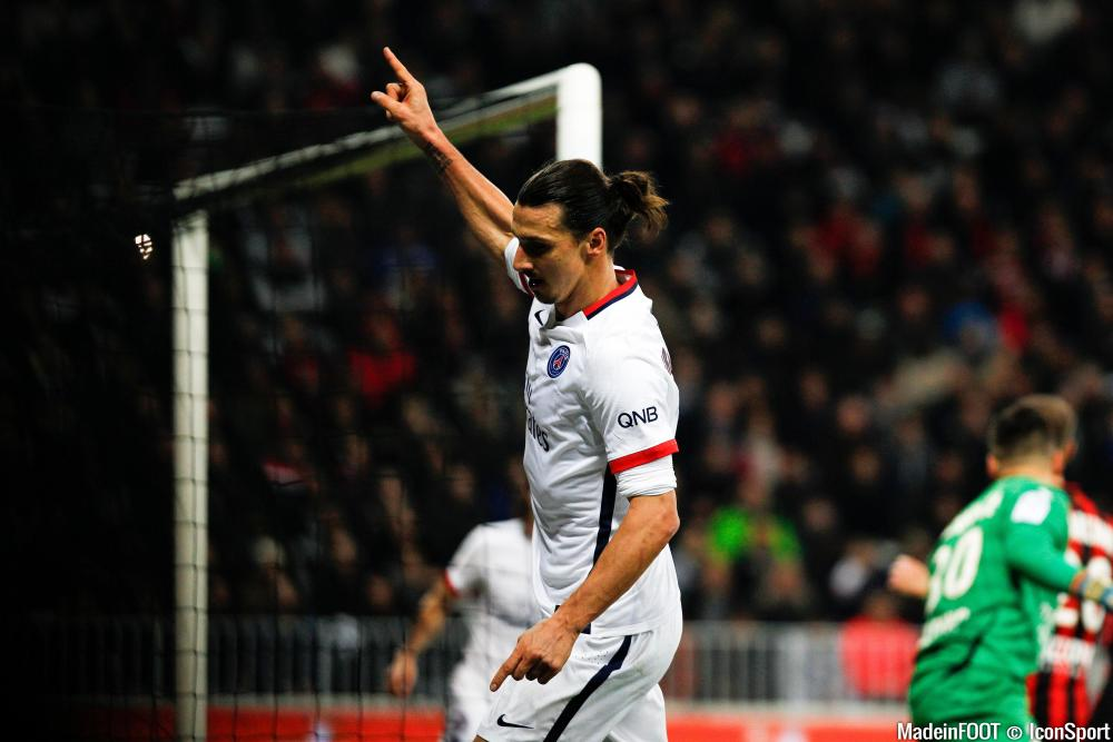 Zlatan Ibrahimovic (PSG) en a encore sous le pied.