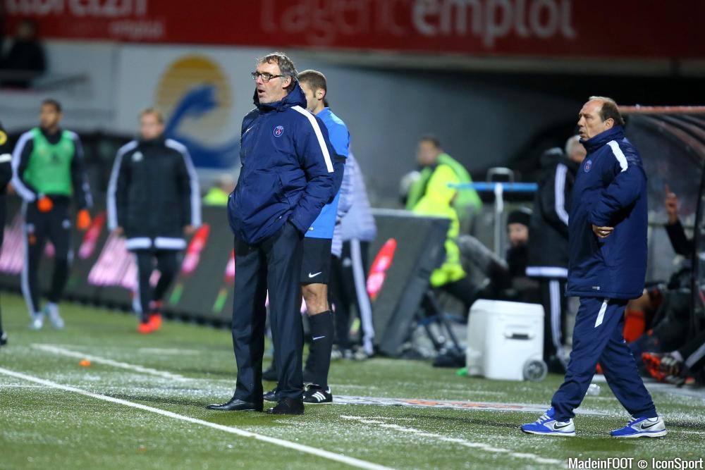 Laurent Blanc (PSG) se contente du match nul obtenu face au SCO Angers (0-0), ce mardi soir.