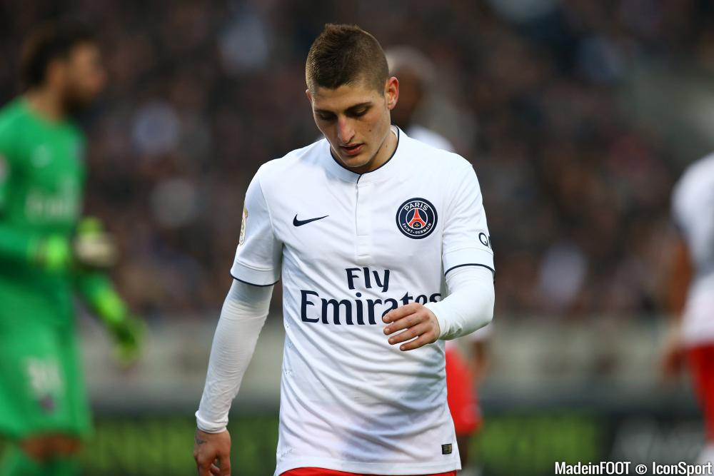 Marco Verratti, le milieu du Paris Saint-Germain