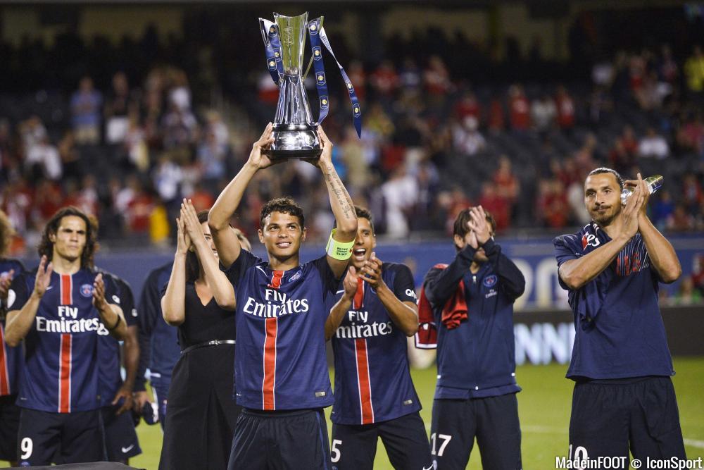 Thiago Silva (PSG) fait l'éloge de son coéquipier.