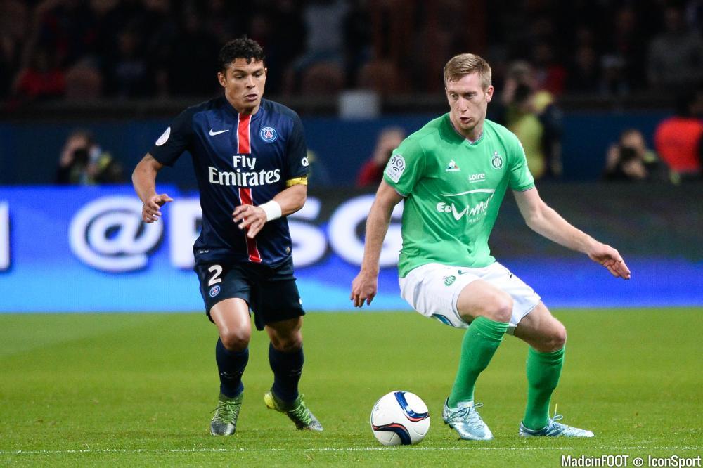 Thiago Silva et le PSG visent un résultat à Madrid.