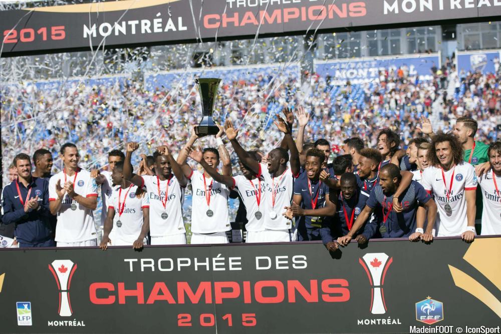 Le Paris Saint-Germain a remporté le Trophée des Champions face à l'OL (2-0), ce samedi soir.