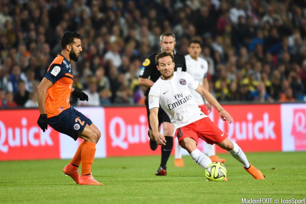 Yohan Cabaye, ici sous le maillot du Paris Saint-Germain.