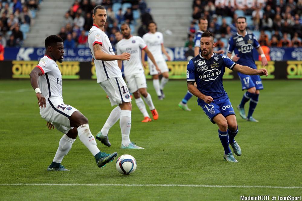 Les compos officielles du match entre le PSG et le SC Bastia.