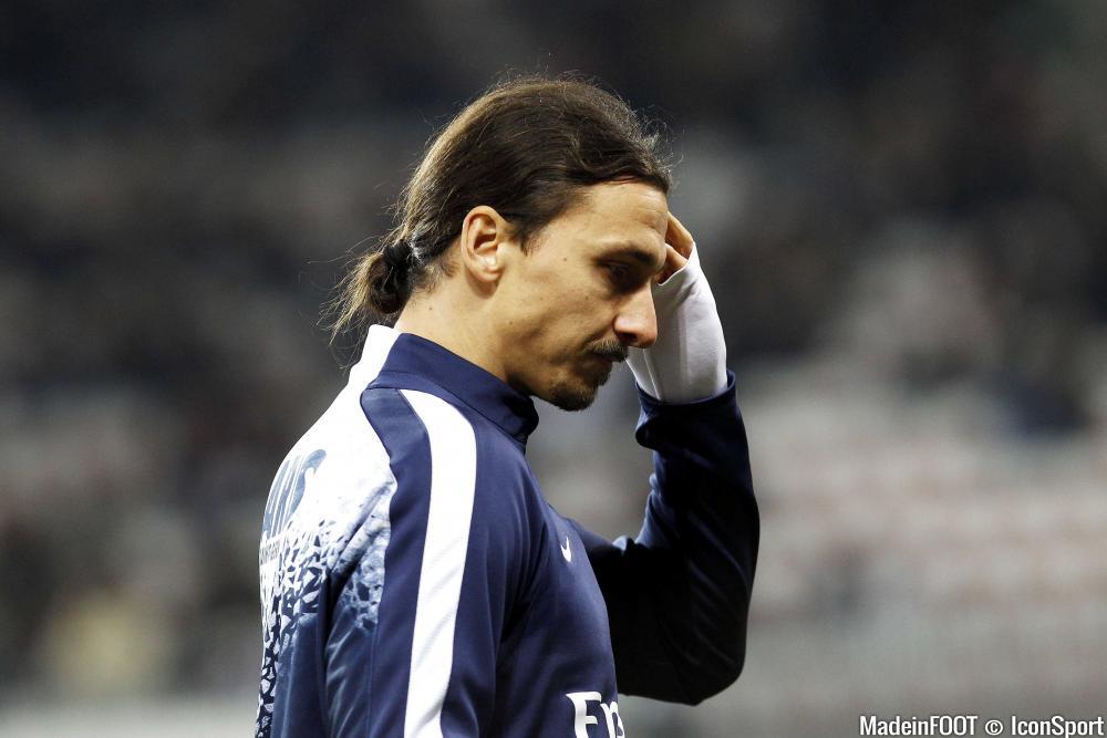 Zlatan Ibrahimovic n'a pas marqué face à Bastia.