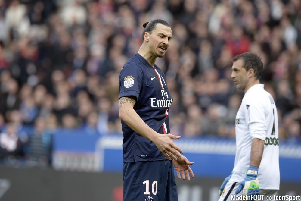 Zlatan Ibrahimovic (PSG) agace certains observateurs ou anciens joueurs.
