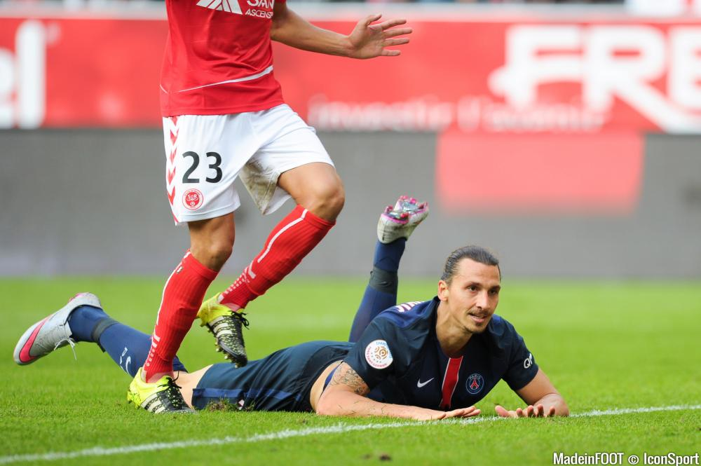 Zlatan Ibrahimovic arrive en fin de contrat à l'issue de la saison...