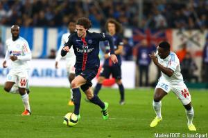 Adrien Rabiot qui monte en puissance avec le PSG, a été sélectionné pour la première fois par Didier Deschamps