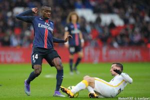 Blaise Matuidi (PSG) a tenu à saluer le départ de David Luiz sur les réseaux sociaux.