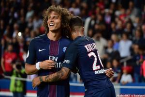 David Luiz, ici sous les couleurs du PSG.