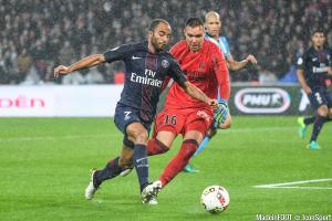 Lucas (PSG) et Pelé (OM)