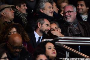 Sarkozy et Blanc (PSG)
