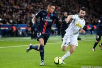 Gregory VAN DER WIEL / Yoann ANDREU - 23.01.2016 - PSG / Angers - 22eme journee Ligue 1