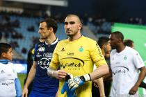 Stephane Ruffier during the Ligue 1 between Bastia and Saint-Etienne at Stade Armand Cesari, Bastia, France on 16th April, 2016