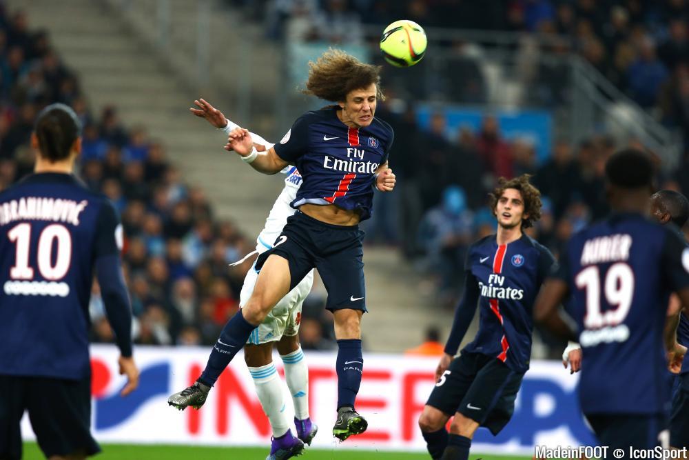 David Luiz sera là pour jouer contre Manchester City.
