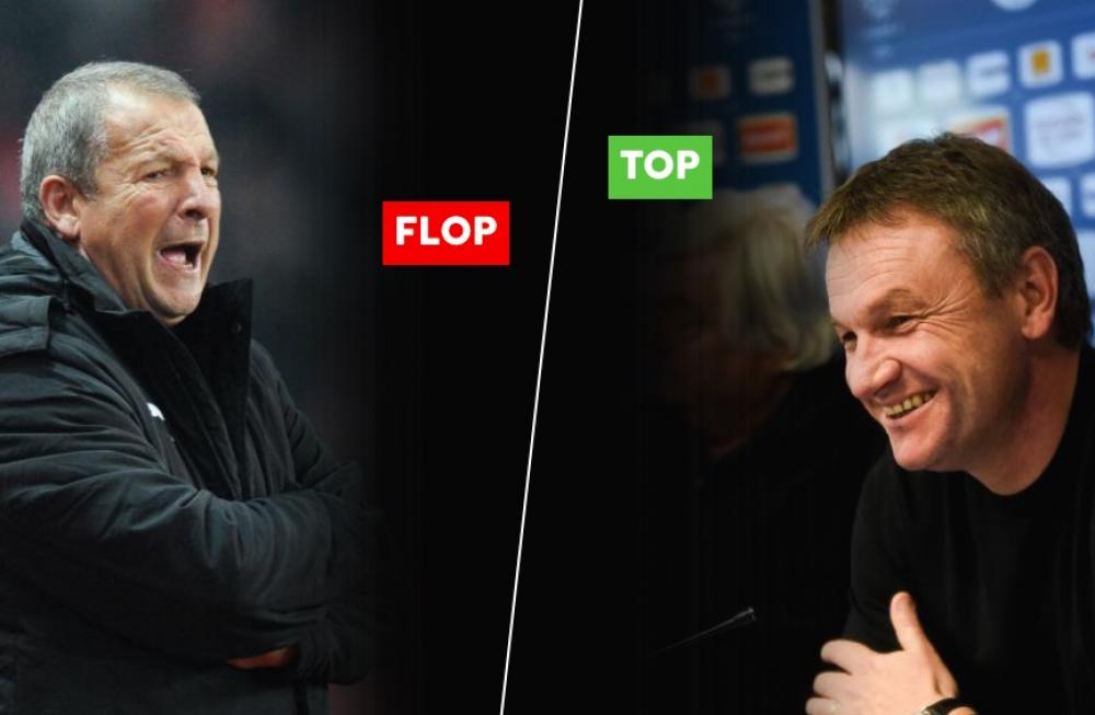 Les tops et les flops de la 23ème journée de Ligue 1.