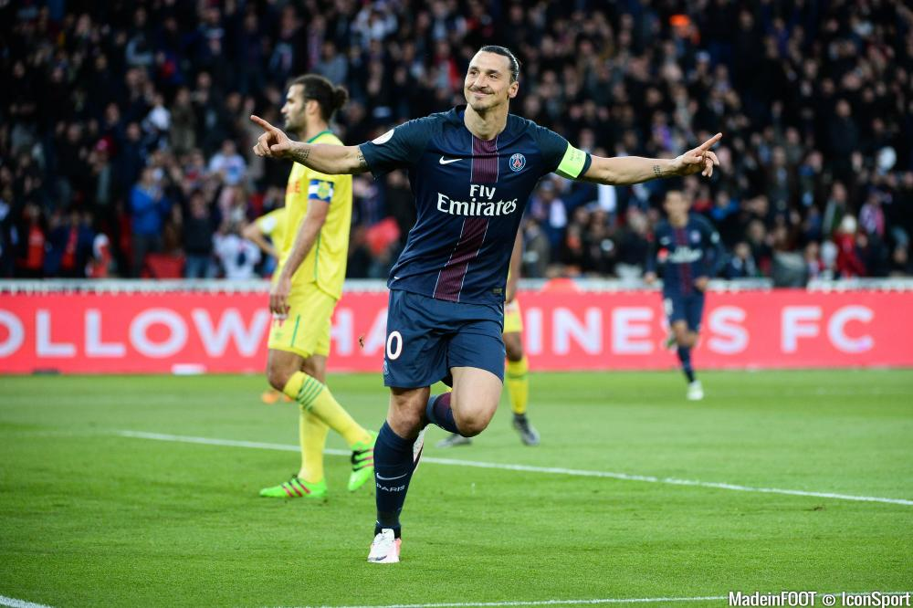 Zlatan Ibrahimovic quitte le PSG, direction Manchester United.