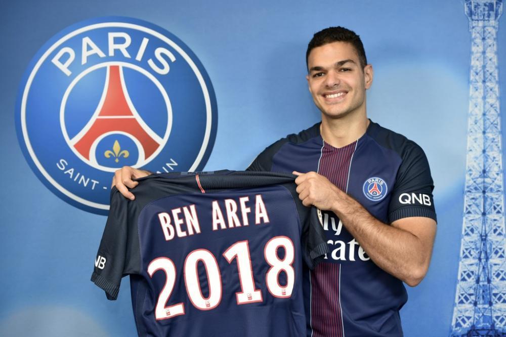 Hatem Ben Arfa s'est engagé avec le PSG.