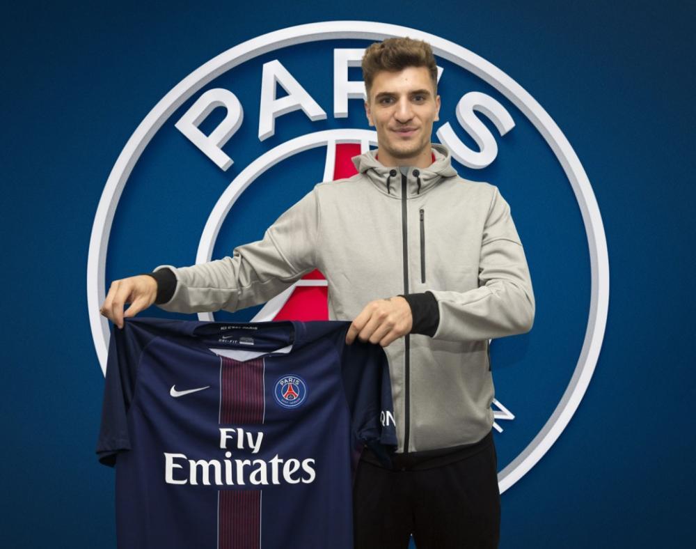 Thomas Meunier est un nouveau joueur du PSG.