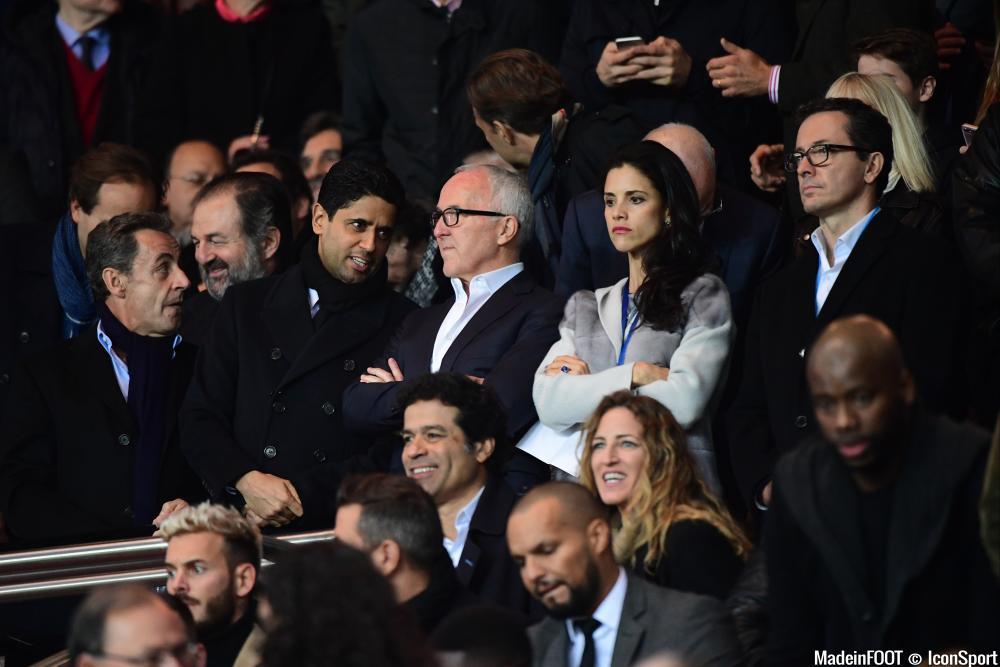 Nicolas Sarkozy devrait supporter le PSG au Parc OL
