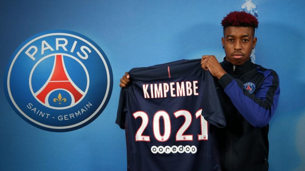 Presnel Kimpembe (PSG) a étendu son bail jusqu'en 2021.