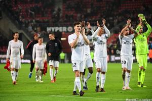 Le groupe du Paris Saint-Germain