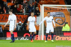Thomas Meunier (Paris Saint-Germain), Marquinhos (Paris Saint-Germain), Thiago Silva (Paris Saint-Germain)