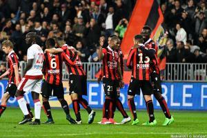 Jean Michaël Seri et l'OGC Nice ont dominé le PSG (3-1), hier soir.