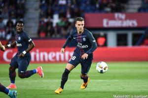 Lo Celso et Aurier (PSG)