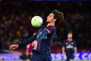 Adrien Rabiot (PSG) s'est arrêté en zone mixte après le large succès face à Bordeaux.