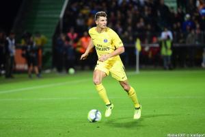 Thomas Meunier (PSG) a inscrit le 3ème de son équipe face à Bordeaux, hier après-midi.