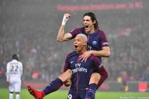 Vous avez élu Edinson Cavani meilleur joueur du PSG sur cette première partie de saison en Ligue 1.