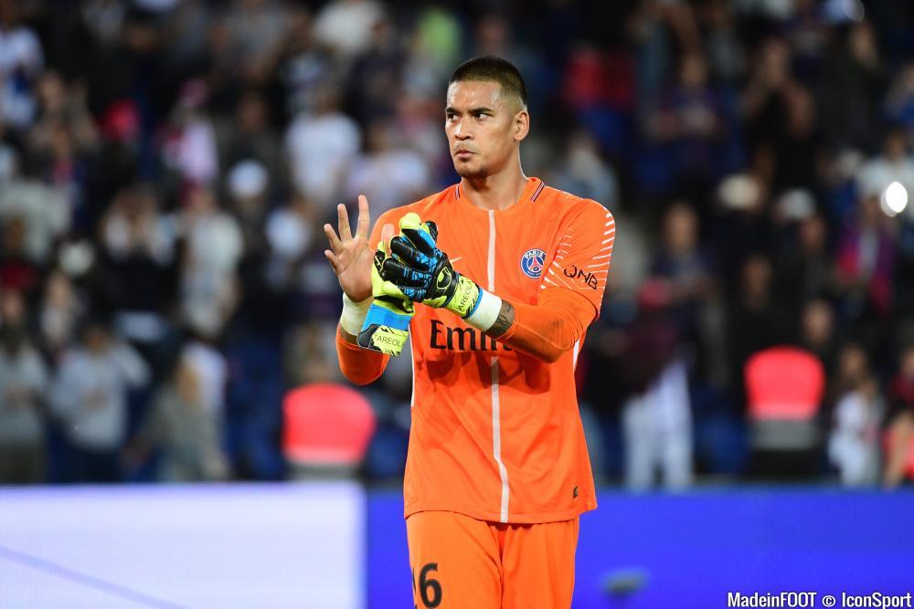 Alphonse Areola est lié avec le PSG jusqu'en 2019.