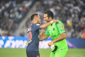 Entre Buffon et Neymar, le courant passe parfaitement