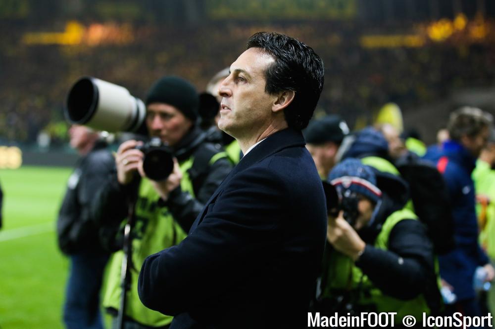 Unai Emery, ici sous les couleurs du Paris Saint-Germain.