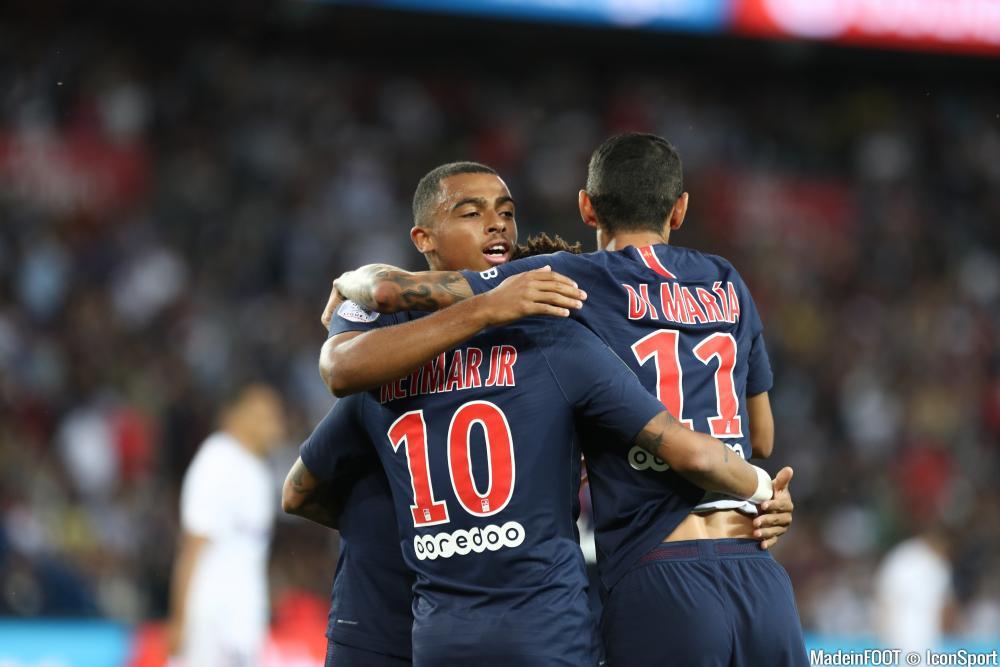 Antoine Bernède (PSG) s'est entraîné avec la réserve ce vendredi.