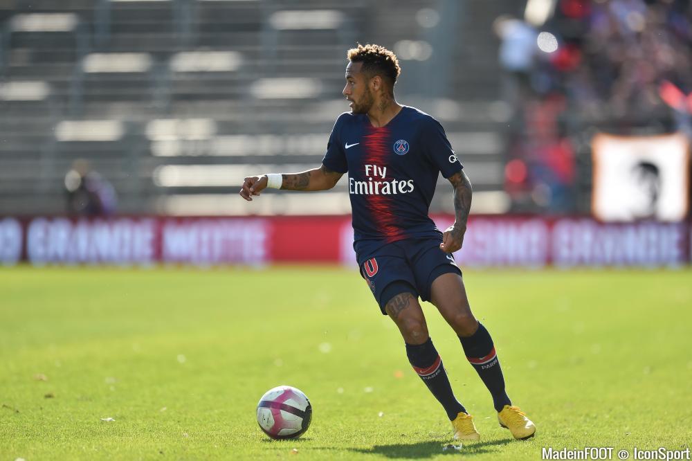 Neymar a ouvert le score