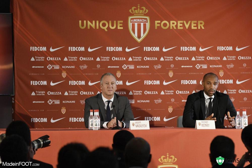 Vadim Vasilyev, l'ancien vice-président de l'AS Monaco.
