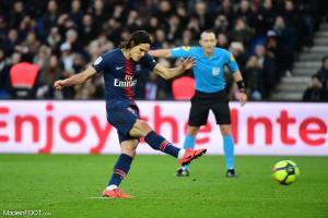 Edinson Cavani (PSG) devrait rater le 8ème de finale retour de LDC face à Manchester United.